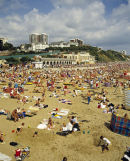 Bournemouth Beach in the early 90's