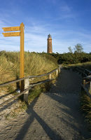 Darss Lighthouse, Baltic Coast, Germany.