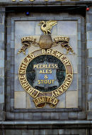 Birkenhead Brewery sign in the 60s