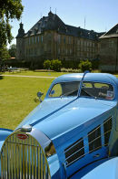 Bugatti replica at Schloss Dyk near Düsseldorf.