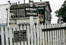 Cemmes Rd. signal box in Central Wales, late 1970s