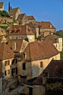 Beynac in the Dordogne, France.