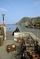 Waiting at Ilfracombe, Devon.