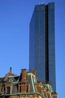 Hancock Tower, Boston, USA.