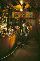 Bar of the Olde Ship Hotel, Seahouses, Northumberland. UK.