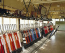 Inside Westbury, Wiltshire signal box in the 80s.