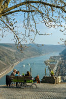 Rhine Valley near Oberwesel.