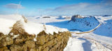 Winter at Hadrians Wall Panorama