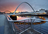 Newcastle Bridges - Sunset
