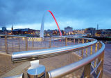 Millenium Bridge - Curves and Arcs