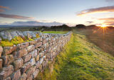 Sunset on Hadrians Wall - End of the Day
