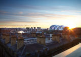 Sunrise over the Sage, Gateshead