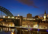 View of Newcastle From Gateshead Quayside