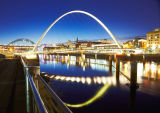 The Gateshead - Newcastle Millenium Bridge