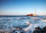 St. Mary's Lighthouse III, Whitley Bay, Tyne & Wear Coast.