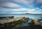 Iconic St Mary's Lighthouse in Tynemouth