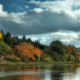 Autumn on the Kyle