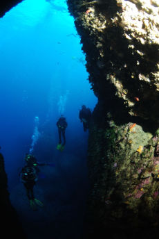Re-entering the Blue Hole, Dwejra Point