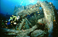 Stern of the Thistlegorm