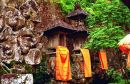 Shrines, Temple in Mountains, Bali