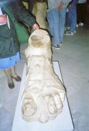 Roman Marble Foot, Carthage