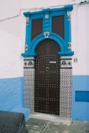 House Doorway, Oudaia Kasbah, Rabat