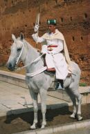 Royal Guard, Mausoleum of Mohammed V, Rabat