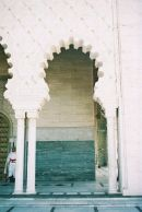 Detail, Mausoleum of Mohammed V, Rabat