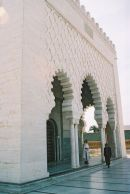 Building Detail, Mausoleum of Mohammed V, Rabat