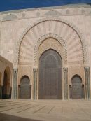 Doorway, Hassan II Mosque, Casablanca