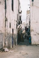 Side Street going into the Medina, Casablanca