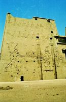 Left Pylon, Entrance, Edfu
