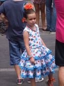 Girl in Costume, Malaga Festival
