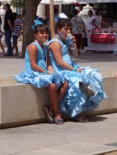 Girls in Costume, Malaga Festival