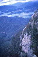 Gorge Wall at La Chalet, Mount Buffalo, Victoria State