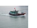 Ferry Boat Underway, Halong Bay