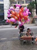 Balloon Seller, Hanoi