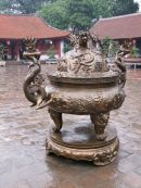 Bronze Incense Burner, Temple of Literature, Hanoi