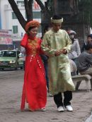 Traditional Vietnamese Dress, Hanoi
