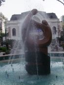 Fountain in Front of Opera House, Ho Chi Minh City