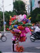 Balloon Vendor, Ho Chi Minh City
