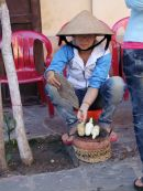 Barbecued Corn Street Vendor, Hoi An