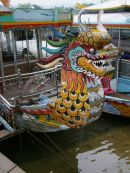 Dragon Boat, Perfume River, Hue