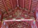 Roof Interior of Restored Building, Kinh Thanh (Citadel), Hue