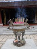 Bronze Incense Burner,  Thien Mu Pagoda, Hue