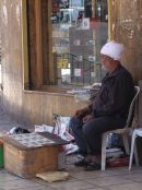 Jordanian Newspaper/Magazine Seller, Aqaba