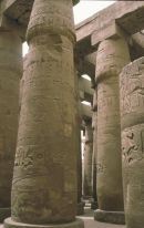 Relief on Columns in Hypostyle Hall, Karnak Temple, Luxor