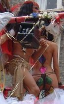 "Nottinghill Carnival Costume ""In the buff"""