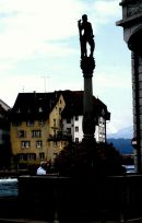 Profile of Fountain, Lucerne
