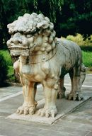 Stone Lion, Sacred Way, Ming Tombs, Beijing